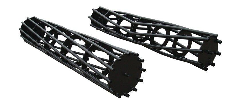 Rohrstabwalze, erhältlich in verschiedenen Rollendurchmessern und Rohrzahlen